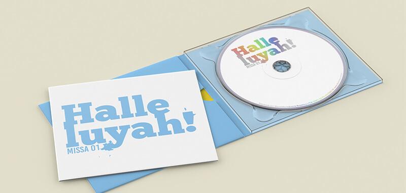 Arte Gráfica CD Halleuyah