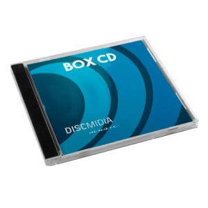 Box tradicional CD Acrílico